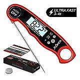 Thermometre de Cuisson, Thermomètre de Cuisine Numérique, Sonde Inox, Niveau...
