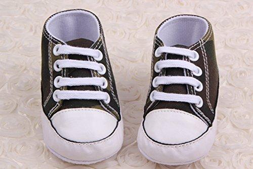 Bigood Liebe Baby Junge Espadrilles Krabbelschuhe Baby Junge Schuh Lauflernschuhe Schwarz