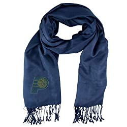 NBA Indiana Pacers Crystal Pashmina Fan Scarf, Navy
