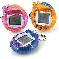 Yidarton Elektronisches Haustier Miniatur Spielzeug Virtuelle Haustier Spielmaschine 49 Tiere Fantasie Überraschung Weihnachtsgeschenk 90s Nostalgische