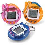 Nostalgic 90S Electronic Pets 49 Pets In One Virtual Pet Digital Pet Toy Funny (Color Random) (Style-A)