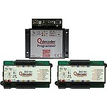 QD095: Qdecoder Startpaket mit Programmer und 2x ZA2-16+ deLuxe