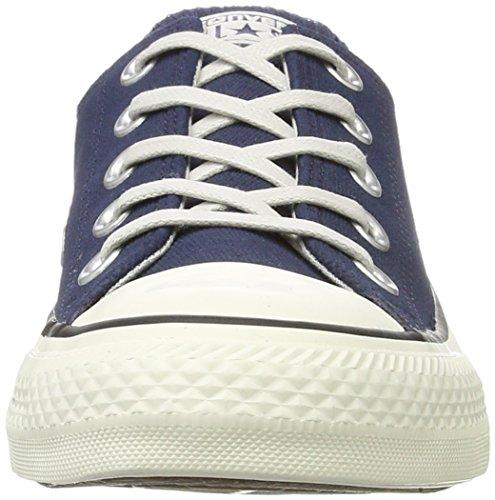 Converse Chuck Taylor All Star, Sneaker Basse Unisex - Adulto Blau (Midnight Navy/Black/Egret)