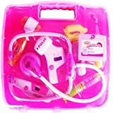 Doctor Kit Toys For Kids, Doctor Kit Pretend Play Doctor Playset Medical Carrycase Nurses Toy Set Fun Toy Gift Early Education For Kids (Pink)