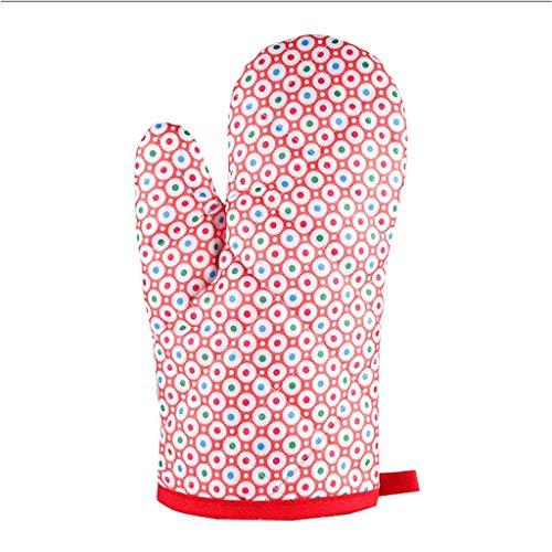 sharprepublic Ofenhandschuhe/Backhandschuhe/Topfhandschuhe gegen Hitze, Fett, Öl, Wasser -