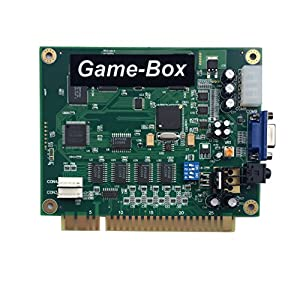 Game-Box Carte Horizontale <19in1> de Carte PCB de Multigame Jamma d'arcade de Multicam pour Le Jeu Vidéo