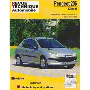 Rta 628.1 Peugeot 206 Diesel 1.9 d et 2.0 Hdi