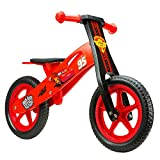 Disney Kinder Wooden Balance Bike Cars 12' Sports, Mehrfarbig, M