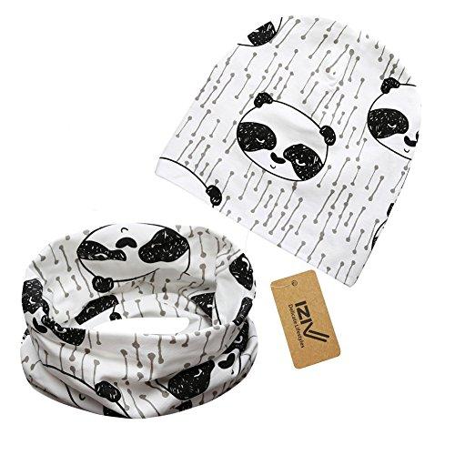 iziv-cappello-berretto-cute-baby-sciarpa-del-cotone-dei-bambini-sciarpa-per-bambino-0-3-anni-panda-2
