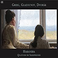 Grieg, Glazounov, Dvořák