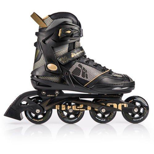 METEOR® HIVE GOLD Inline Skates | Herren | Größen 41-46 | ABEC7 | 3-in-1 Verschluss