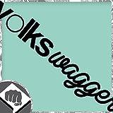 VOLKSWAGGER - Sticker Bomb Aufkleber OEM - DUB DUBWAY (außenklebend, weiß)