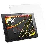 atFolix Folie für CSL Panther Tab 9 Displayschutzfolie - 2 x FX-Antireflex-HD hochauflösende entspiegelnde Schutzfolie
