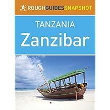 Rough Guides Snapshot Tanzania: Zanzibar