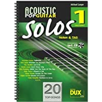 Acoustic Pop Guitar Solos Band 1CD incluso–-20topsongs arrangiate per chitarra in banconote e Tab–Output legame in anello (banconote) - Acoustic Solo Tabs