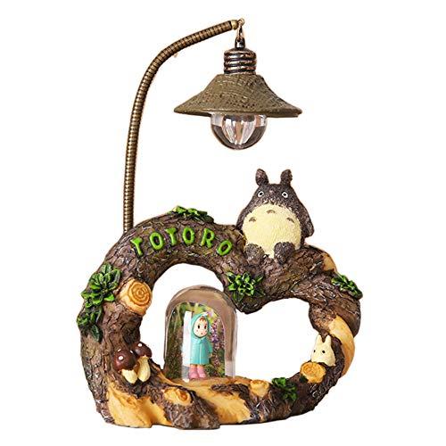 Kreative Kostüm Zusammen - ZSTCO Totoro Nachtlicht, Mein Nachbar Totoro von Studio Ghibli Arbeitet für kreative Heimdekoration Handwerk Boutique Geschenk Desktop Kleine Einrichtung für Kinderliebhaber,A