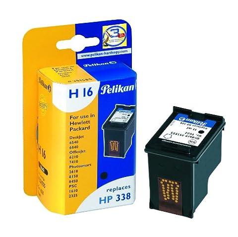 Pelikan Druckerpatrone H16 ersetzt HP C8765EE, Schwarz (pigment)