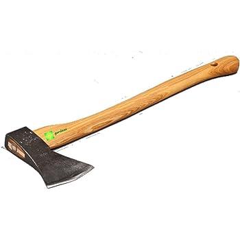 Axt 2,5 kg Gartenaxt Holzstiel Spaltaxt Beil Spaltbeil Holzspalter Holzaxt