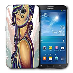 Snoogg Beautiful Girl Designer Protective Back Case Cover For Samsung Galaxy Mega 6.3