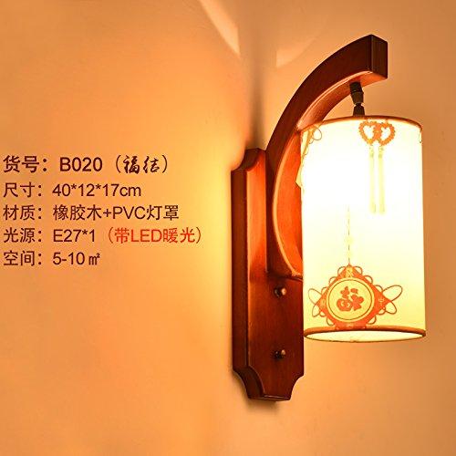 XXHX Wandleuchten Indoor Ideal für Wohnzimmer Flur Schlafzimmer Bad Flur Treppen Wand LampFu Knoten 40 * 12 * 17 LEDThe warmes Licht