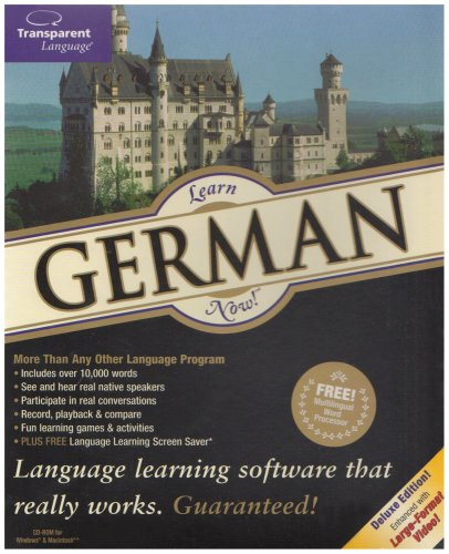 Learn German Now! 9 (PC/Mac) Test