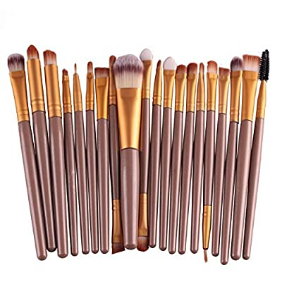 Hosaire Pro Makeup 20pcs Brushes Set Eyeshadow Eyeliner Lip Brush Powder Foundation Tool
