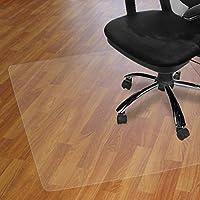 Alfombrilla para silla para suelos duros, 120 x 90 cm, material no reciclable