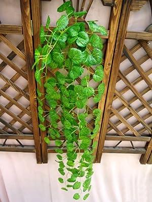 Sumchimamzuk 2M Efeu Girlande Efeubusch Efeugirlande Efeuranke künstliche Kunstpflanze von sumchimamzuk - Du und dein Garten