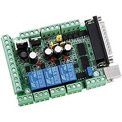 4 Ejes CNC MACH3 Adaptador Interfaz del Tablero de Desbloqueo para Conductor del Motor Stepper Motor Driver