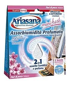 Ariasana 674130 Minifresh Bustine Appendibili, Fiori di Pesco, 100 g