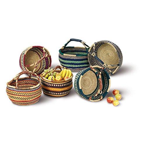 Seegrastasche 'Afrika', Einkaufskorb, Korbtasche, Strohtasche, Einkaufstasche, Korb