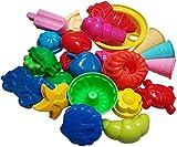 KSS Großes Förmchen Set 10 Stück Sandspielzeug Strandspielzeug Sandkasten
