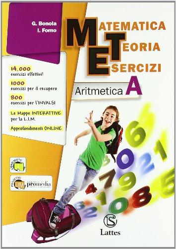 Matematica teoria esercizi. Aritmetica. Con tavole numeriche-Il mio quaderno INVALSI 1. Per la Scuola media. Con espansione online