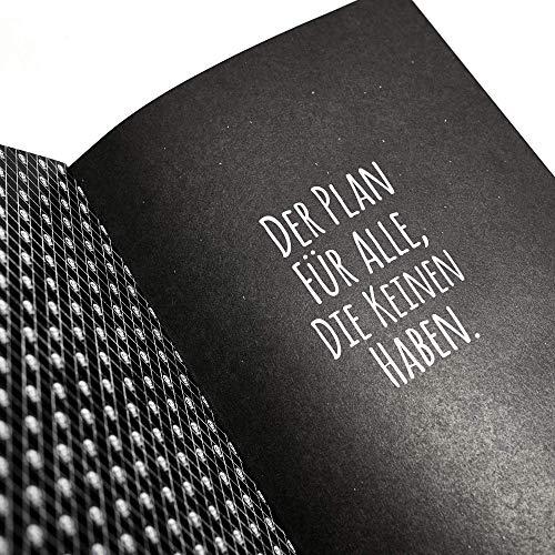 Midi Flexi Diary Pechkeks 2020 - Buchkalender - Wochenkalender - Taschenkalender - Notizkalender - Terminplaner - 12x17cm - schwarzer Humor