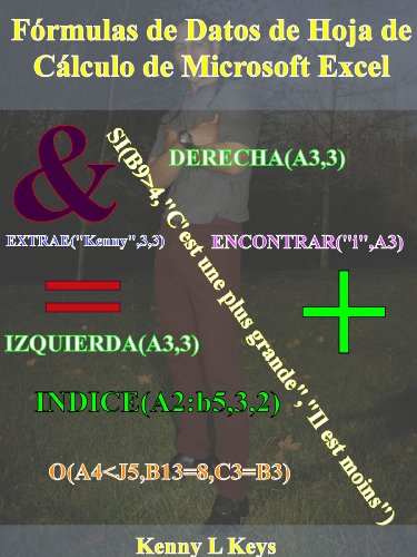 Fórmulas de datos de hoja de cálculo de Microsoft Excel