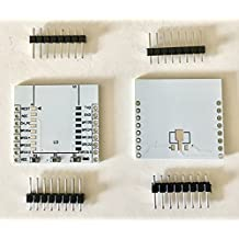 2pcs ESP8266 Serial Port WiFi Module Adapter Plate with IO Lead Out for ESP-07 ESP-12 ESP-12E