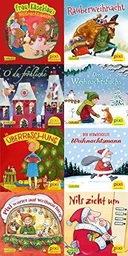 Pixi-Weihnachts-8er-Set 21: O du fröhliche ... (8x1 Exemplar)