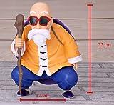 Figura Dragon Ball Z. Maestro Sennin. (Abuelo Tortuga) 22cm