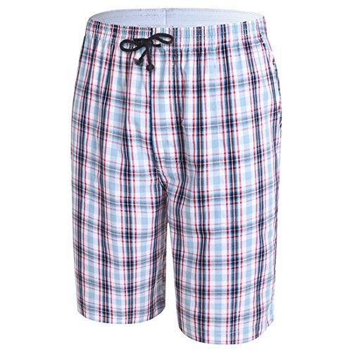 Honeystore Herren Sommer Strand Shorts Badeshorts Badehose Boardshorts mit Muster S18 XXXL (Damen Caprihosen Brooks)