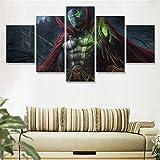 artwu Comics Spawn Décorations murales pour Chambre à Coucher ou Salon Impressions sur Toile 25,4 x 40,6 x 5,3 x 5,3 cm x 5,3 x 71 cm