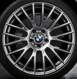 Original BMW Alufelge 5er F10-F11-LCI Kreuzspeiche 312 Ferricgrey in 20 Zoll für vorne