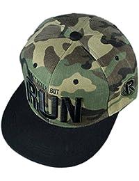 Belsen Damen Hip-Hop RUN Cap Baseball Hut Snapback Trucker Hat
