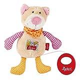 sigikid, Mädchen, Spieluhr, Stofftier Katze, Pink/Orange, 40354