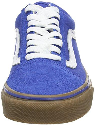 Vans Old Skool Scarpe Da Ginnastica Basse, Unisex Adulto Azzurro