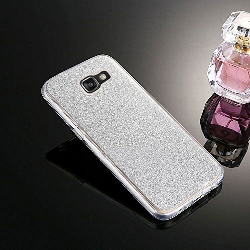 Custodia-Galaxy-A5-2016-Cover-Galaxy-A5-2016-360-Gradi-Silicone-SainCat-Cover-per-Samsung-Galaxy-A5-2016-Custodia-Silicone-Morbido-360-Gradi-Full-Body-Glitter-Bling-Ultra-Slim-Transparent-Silicone-Bri