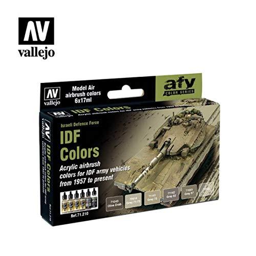 Vallejo Model Air set-Idf Army colori