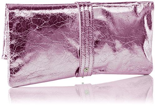 Damen Clutches, Pink (Rose 028), 29x15x1 cm Boscha