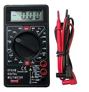 Tibelec 976130 Multimètre digital 5 fonctions