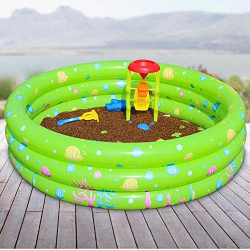Lmmvp Inflatable Swimming Pool Family Kids Water Play Fun Backyard Toy 80 35cm Green Buy
