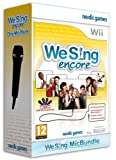 Cheapest We Sing Encore 1 Micrphone Bundle on Nintendo Wii